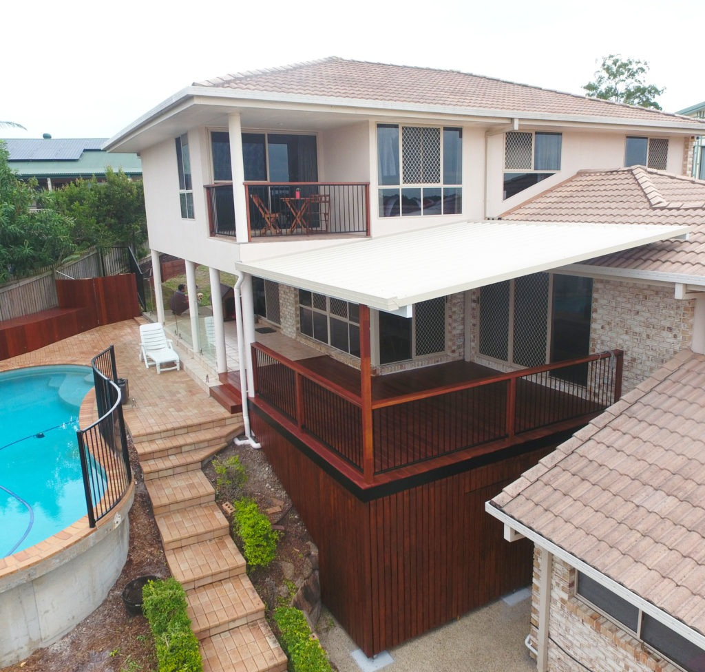 Home with Deck and Pool | Do I need a Professional Builder to Renovate