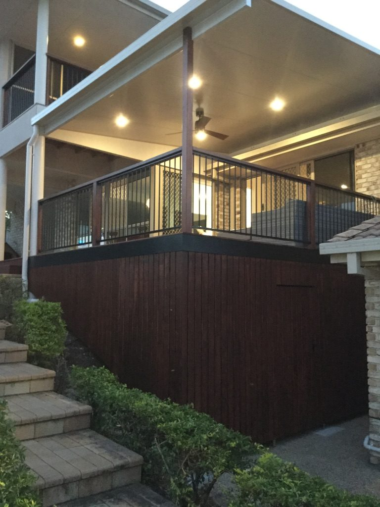 Recently Built Home - Balcony