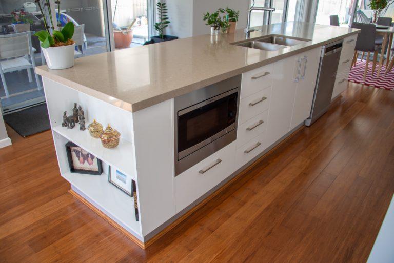 Bongaree Home Build Kitchen