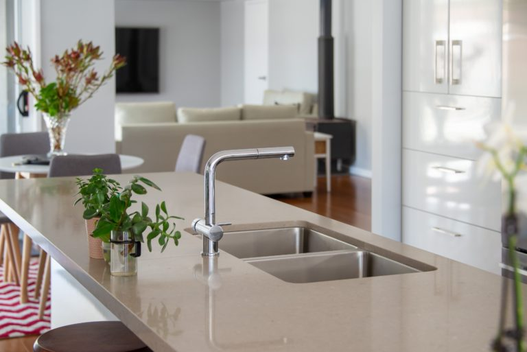 Bongaree Home Build Kitchen Sink