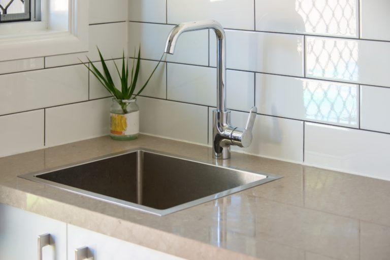 Bongaree Home Build Sink