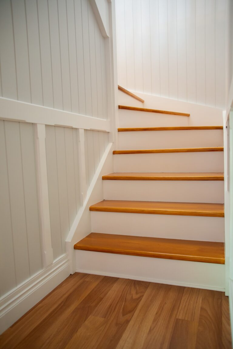 Chelmer Home Build Interior Staircase