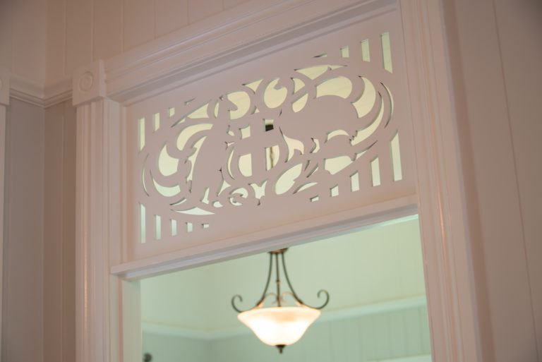 Chelmer Home Build Decorative Feature Stylised with Australian Coat of Arms