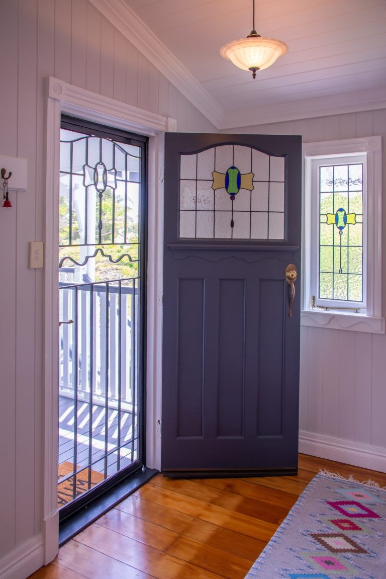 Chelmer Home Build Door