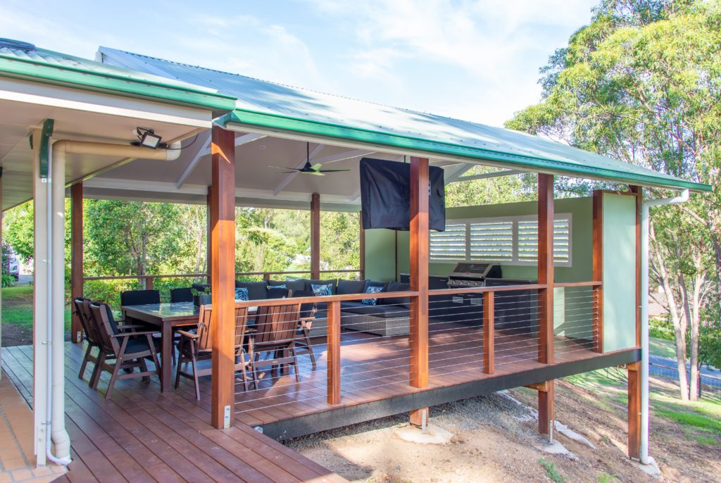 A Finished Deck Extension