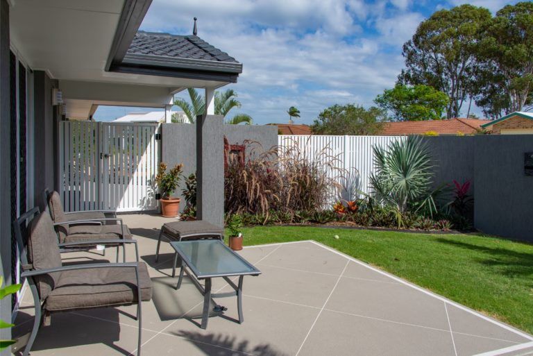 Bribie Island patio by Turul Building Services