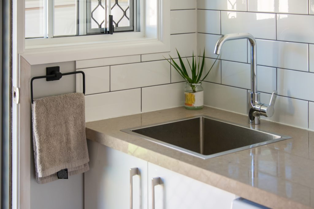 Laundry Renovations Brisbane - Laundry renovation job completed by Turul Builders