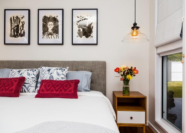 Stafford Build Renovation Master Bedroom