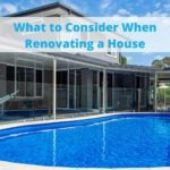 What to Consider When Renovating a House